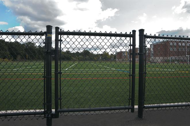 Black Vinyl Reliable Fence Boston