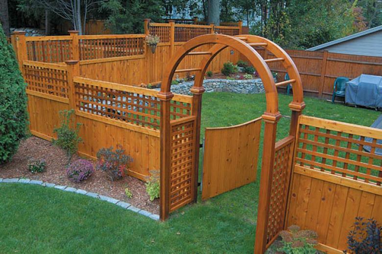 Arbor Gate U0026 English Garden Lattice
