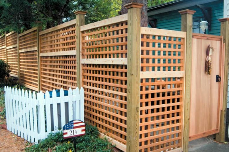 Lattice Reliable Fence Boston